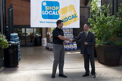 Shop Local Press Conference