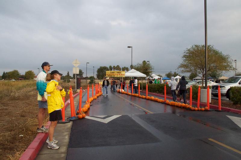 1st Annual Pumpkin Run in West Sacramento