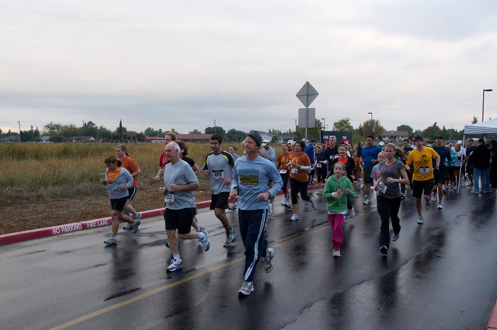 1st Annual Pumpkin Run in West Sacramento