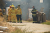 Fire Department House Fire Training Exercise