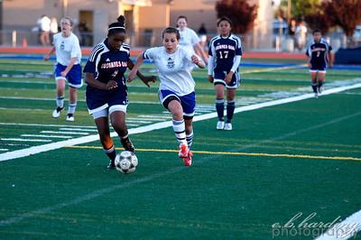 10-04-06 RCHS Girls Varsity Soccer vs Cosumnes Oaks
