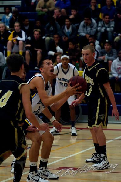 River City High School,  Varsity Basketball  vs Pioneer