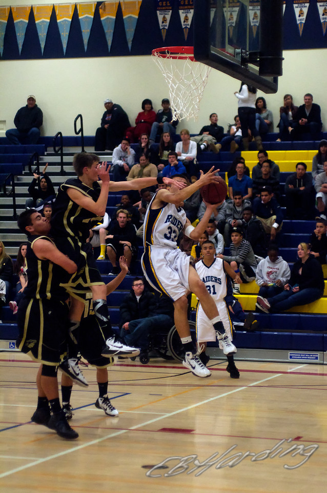 River City High School,  Varsity Basketball  vs Pioneer