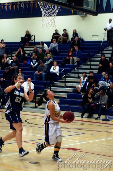 River City High School,  Girls, Basketball vs Casa Robles