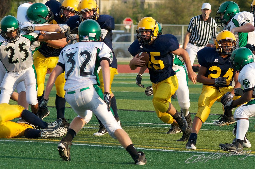 RCHS JV Football vs El Camino