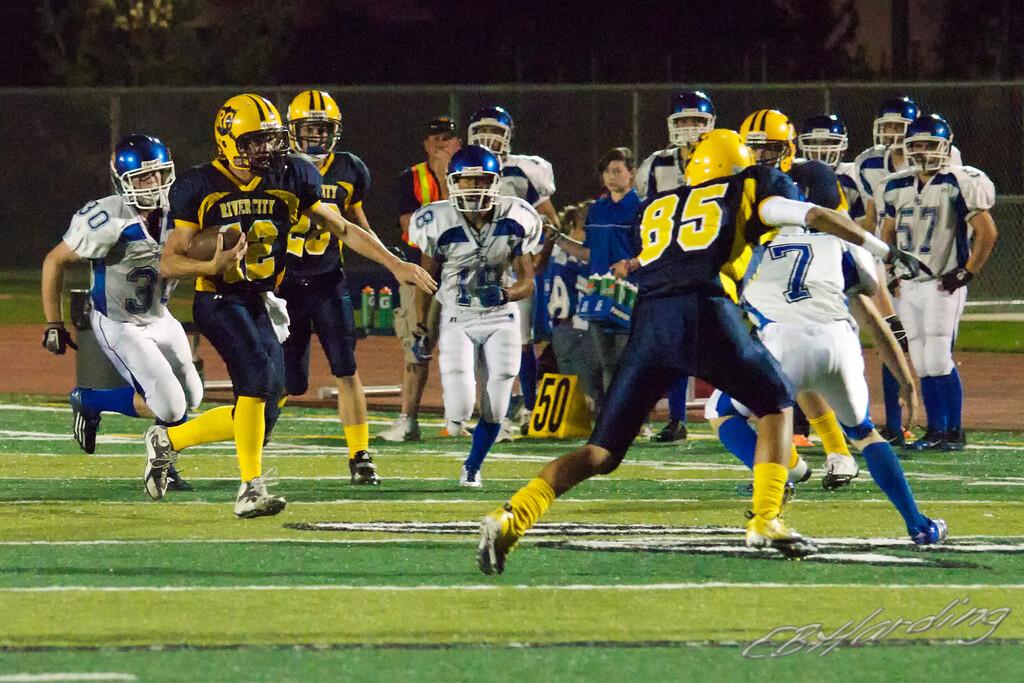 RCHS Football vs El Dorado High School