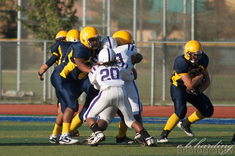 RCHS Football, Vs Sacramento High School in West Sacramento