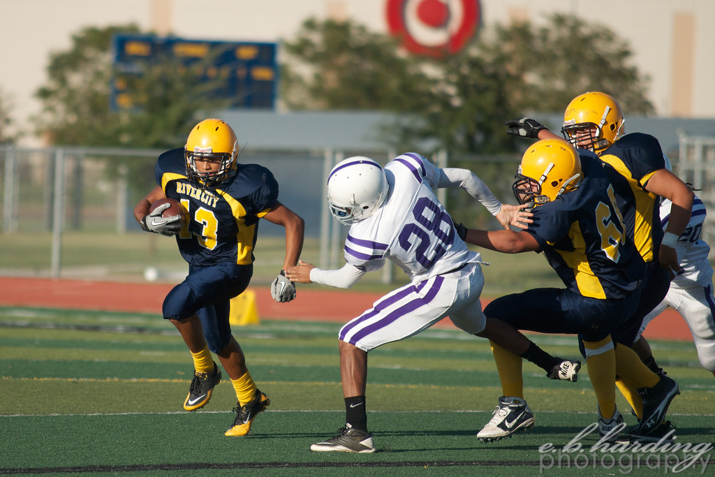 RCHS Football, Vs Sacramento High School in West Sacramento