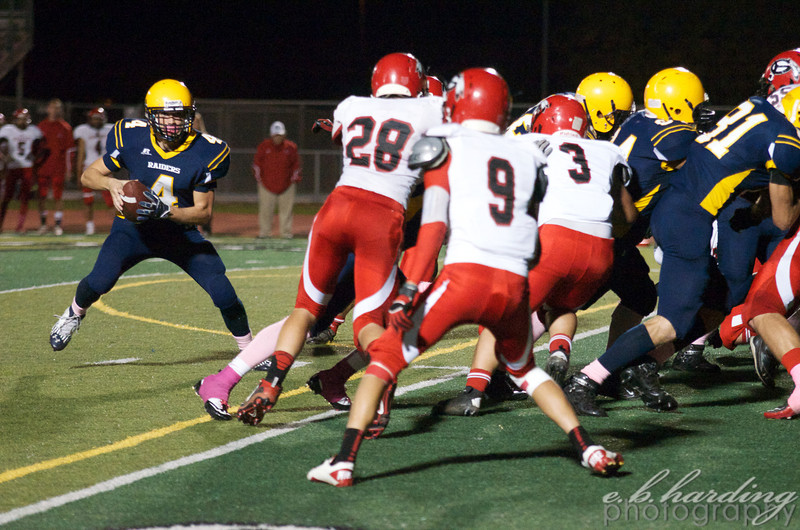RCHS Football, Vs Galt in West Sacramento and Homecoming