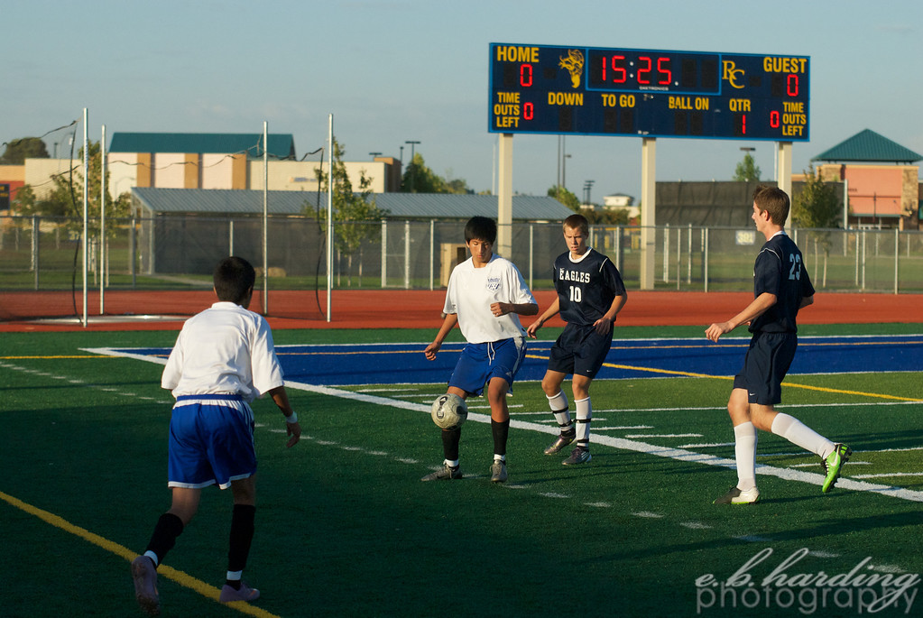 River City High School,  Boys, Soccer,  vs Vista Del Lago