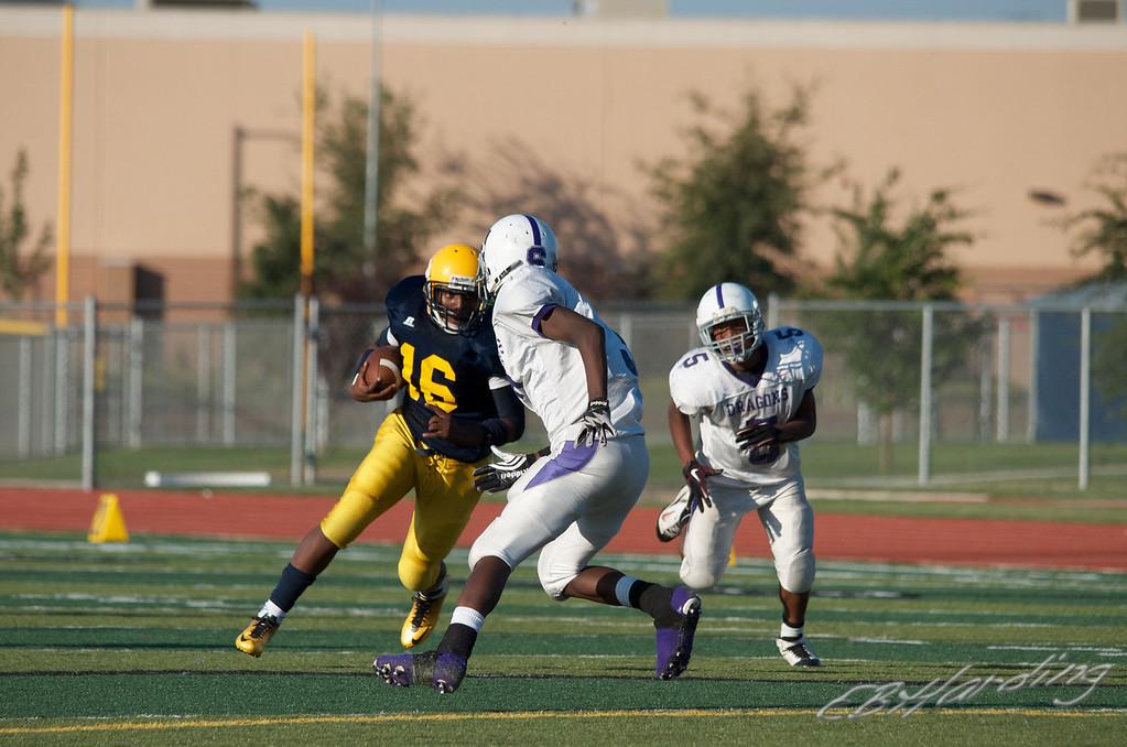 RCHS Football vs Sacramento High