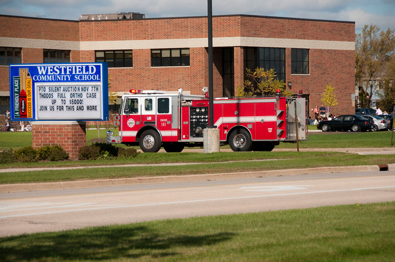 ALITHFD Box Alarm Westfield School for odor investigation - 10-7-09