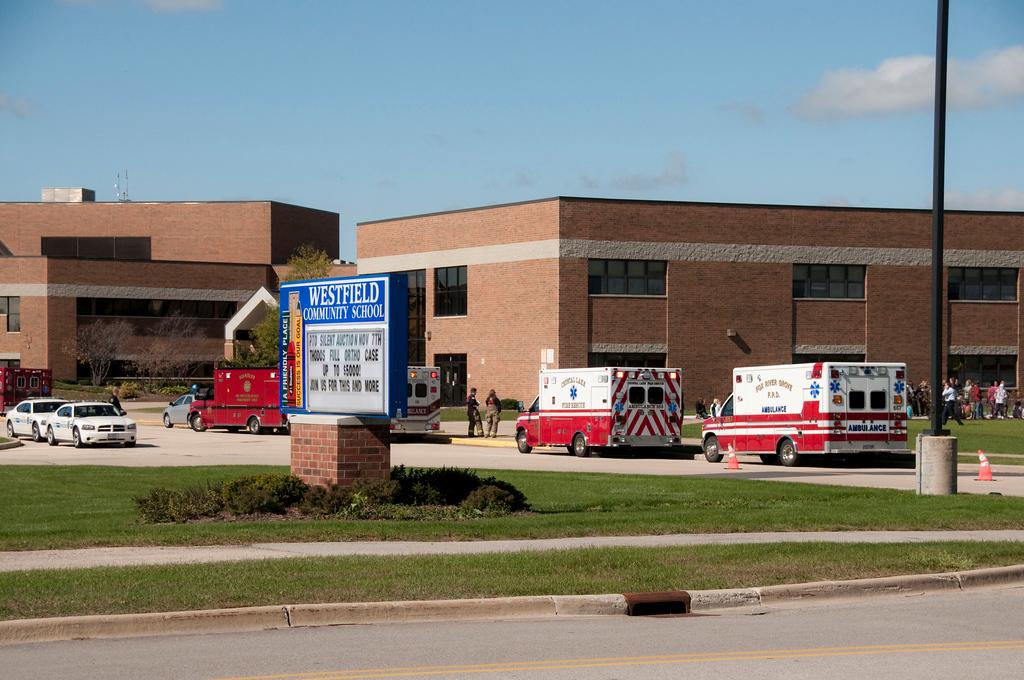 ALITHFD Box Alarm Westfield School for odor investigation - 10-7-09