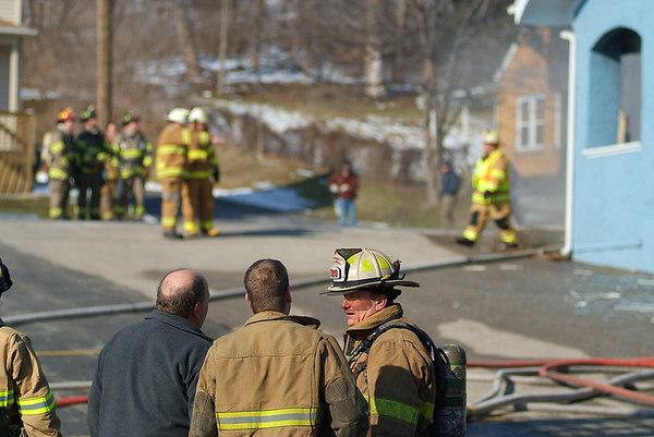 Algonquin Fire - Jan 26, 2007