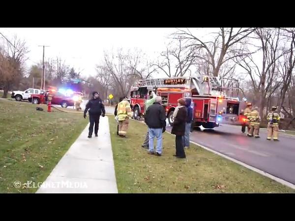 Algonquin Residential Fire - Dec. 5, 2011