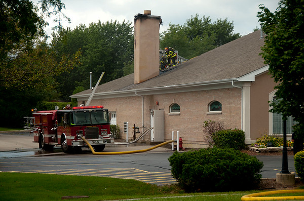 Bartlett - Chimney Fire @ Countryside Funeral Home - Aug. 21, 2010