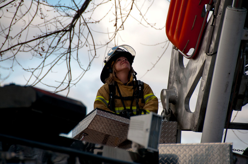 Hanover Park Fire Department Residential Chimney Fire - March 14, 2010