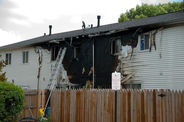 Streamwood FD Apt. Building Fire - July 15, 2010