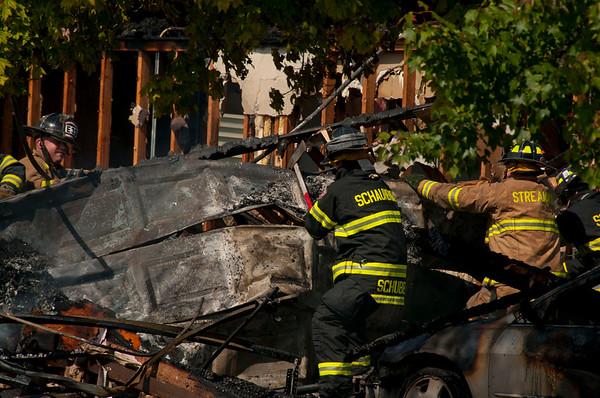 Streamwood FD Residential Fire - Sept. 23, 2010
