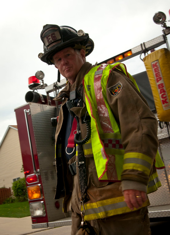 32+ years as an Elgin Firefighter!