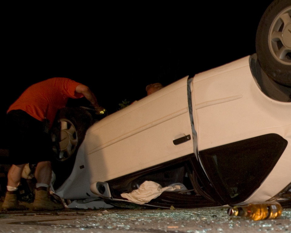 This photo was used in 2 newspapers that ran stories about this accident.