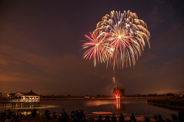 Pingree Grove Fireworks - July 7, 2012