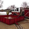 Crystal Lake Garage Fire / 4013 Wilderness Ridge  - Jan 25, 2010