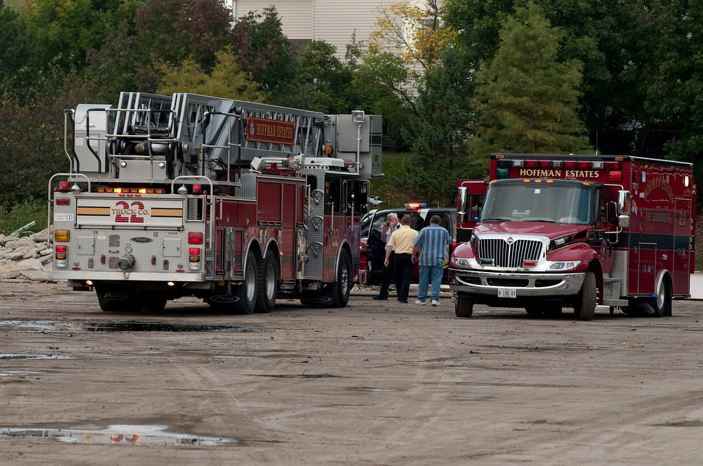 Hoffman Estates Fire Department TRT - Menards - Sept. 22, 2009