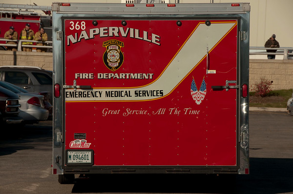 Naperville - Nov. 4, 2009 - Chemical explosion in plant