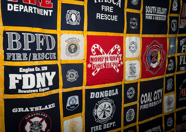 Operation North Pole Fire & Police Quilts