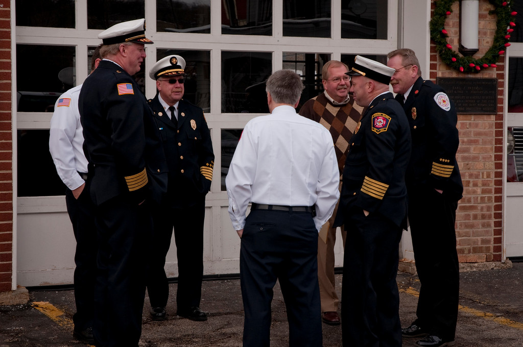 Supporting East Dundee FPD Chief Mark Rakow - December 21, 2009