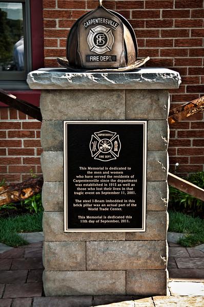 Carpentersville 9/11 Memorial - September 11, 2011