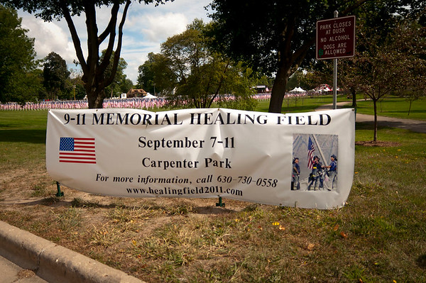 Carpentersville Healing Field - Sept 09. 2011