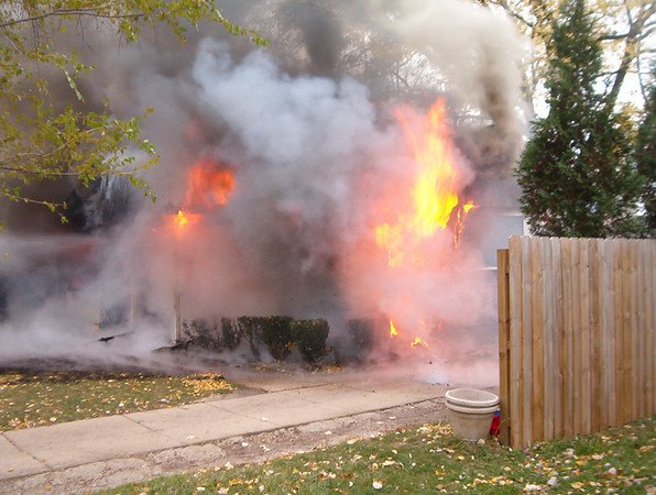These photos are courtesy of Carpentersville Fire Department and are what they first saw, upon their arrival.<br /> <br /> Thanks!
