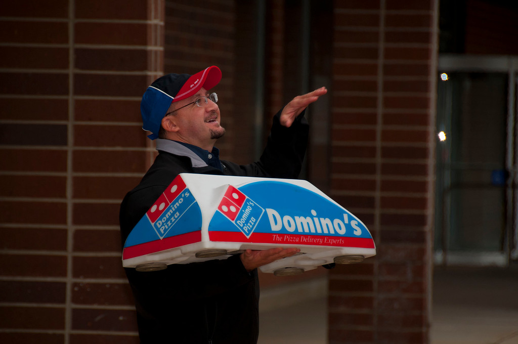 "Local Domino's (east Dundee) Franchise Owner Mauricio ""Reece"" Arroyave"
