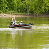 That's a bad feeling to walk across your boat when in the Fox River and it doesn't move. ;-)  I know....I've done it! lol!
