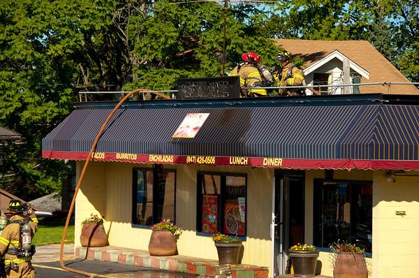 East Dundee - Elfaro's Blaze! - Sept. 4, 2010
