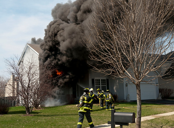Rutland-Dundee Residential Fire - April 13, 2011