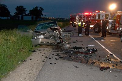 Elgin/South Elgin Extrication crash June 15, 2009 - Elginet Media