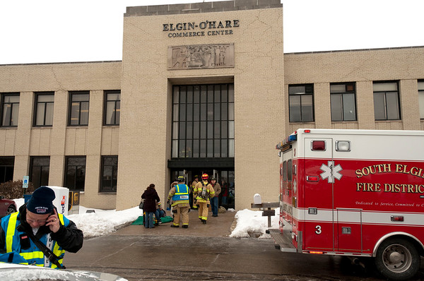 South Elgin 4-Alarm EMS Box - February 11, 2011