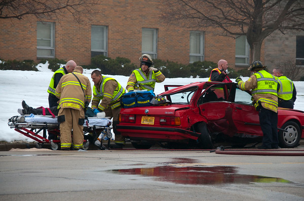 South Elgin Fire - Extrication Accident 31 & Joseph - Jan