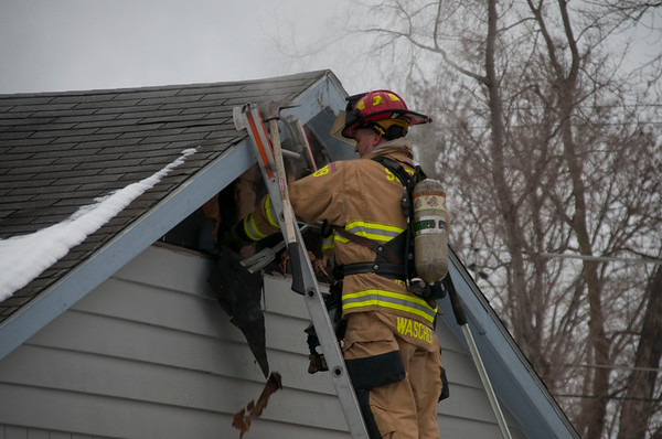 South Elgin - January 15, 2010 - Residential Fire