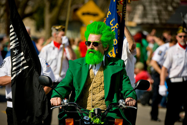 East Dundee gets their St. Patrick's Day on!  March 17, 2012