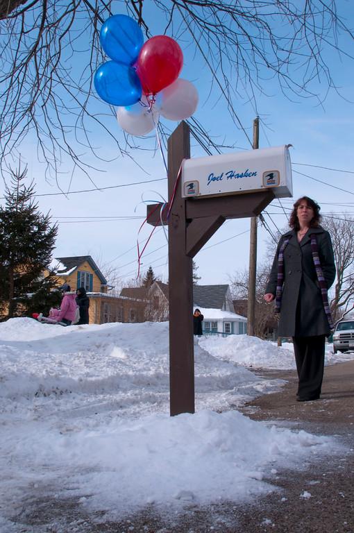 Honoring Joel Hasken - Feb 12, 2010