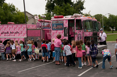 The Pink Heals Tour '09 at Bartlett Fire Protection District for breast cancer awareness  -  Sept. 23, 2009