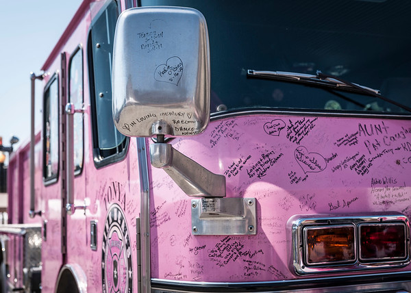 Pink Heals Tour rolls into The Aurora Regional Fire Museum - Aug 25, 2012