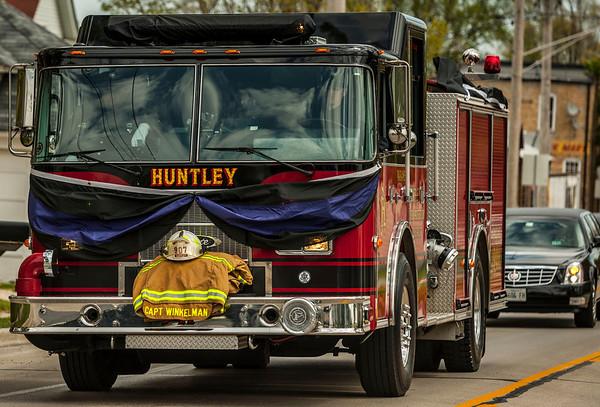 "RIP Huntley Fire Protection District Captain John ""Winky"" Winkelman - April 18, 2012"
