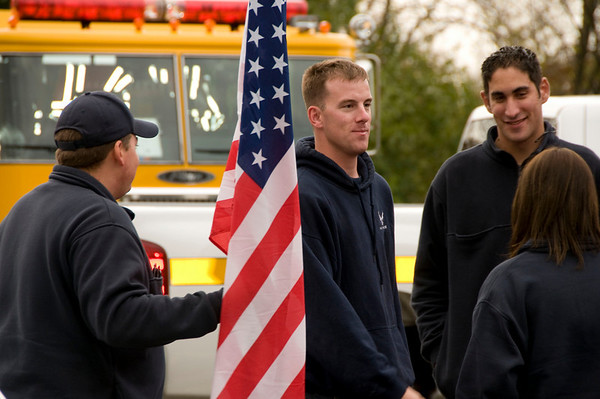 Welcome Home PGFPD USAF SrA Brad Cox
