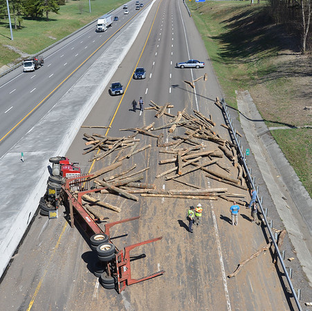 Interstate Log Truck
