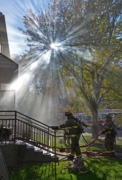 Bristol Virginia Fire Department Training